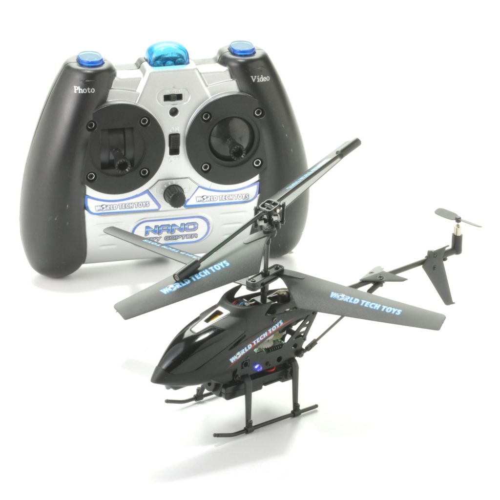 441-316 - Metal Nano Spy Video/Picture Camera Copter w/ 3.5CH Remote Control