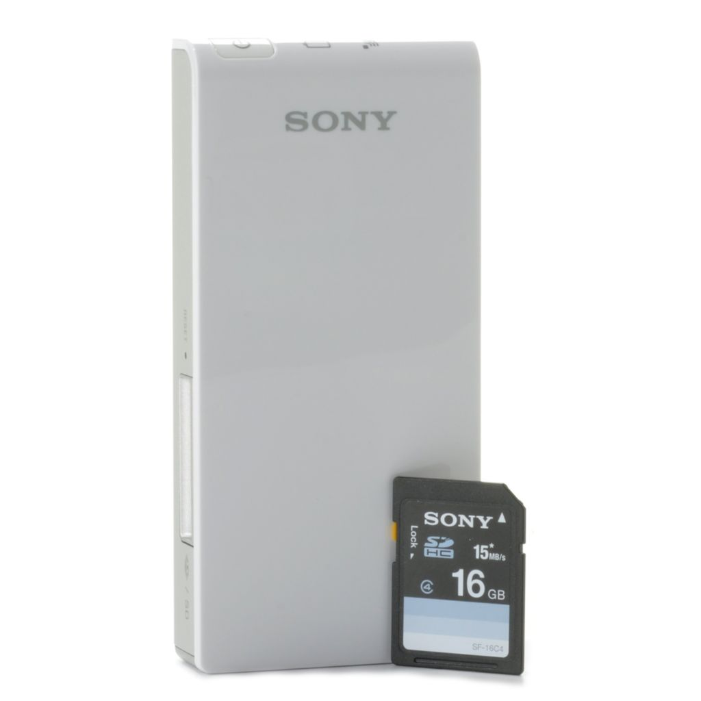 441-322 - Sony Portable Wireless Server w/ 16GB SDHC Card