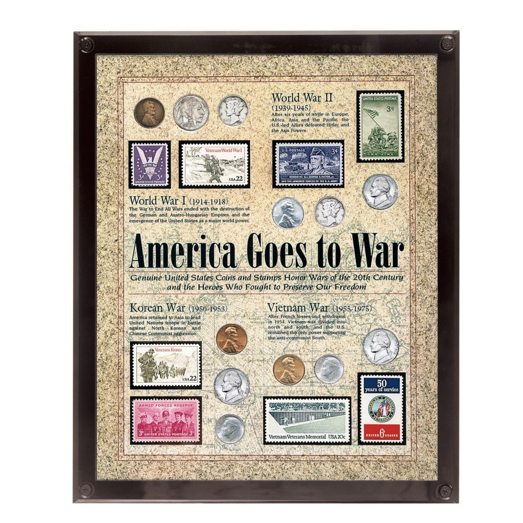 441-346 - Framed Historic Currency Collections