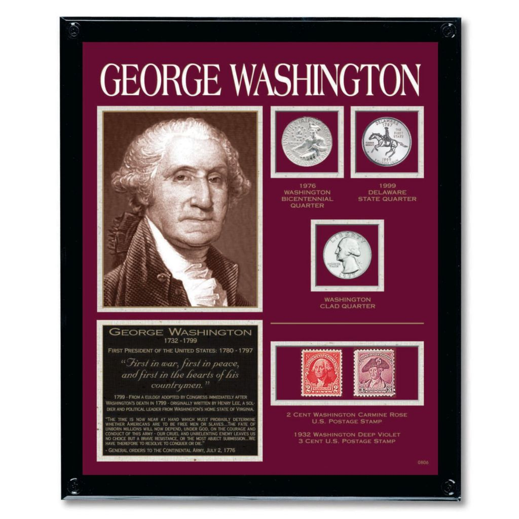 441-347 - Framed Tribute Coin Collections