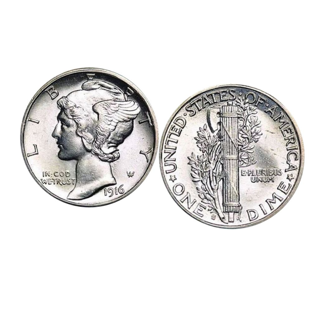 441-352 - Mercury Dime Cuff Links