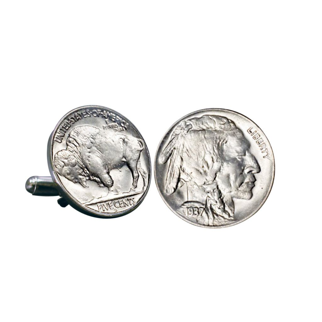 441-353 - Buffalo Nickel Cuff Links