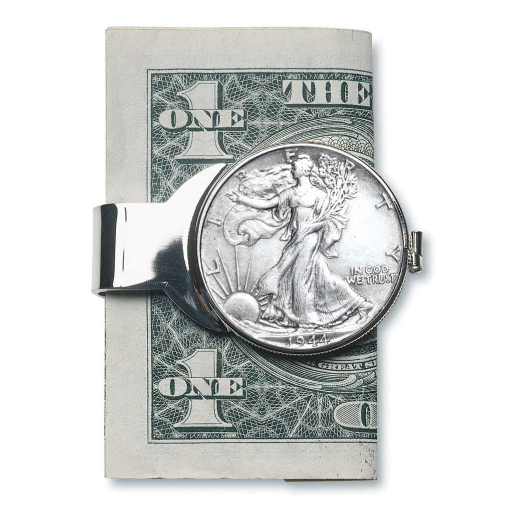 441-357 - Half Dollar Money Clips