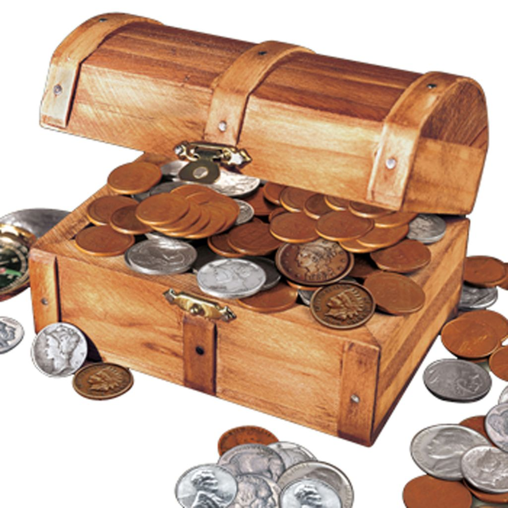 441-376 - Treasure Chest Coin Collection