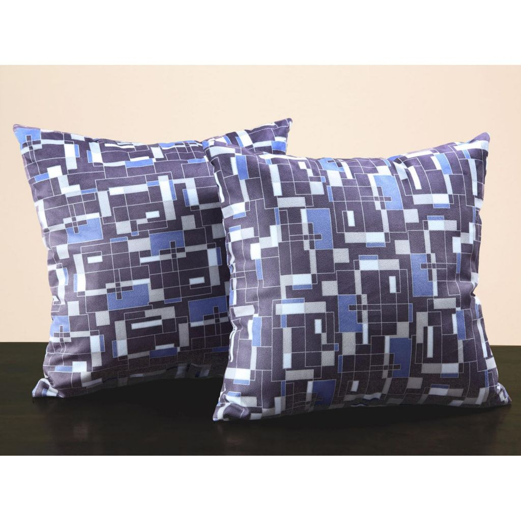 441-392 - HomeBasica Printed Throw Pillow Pair