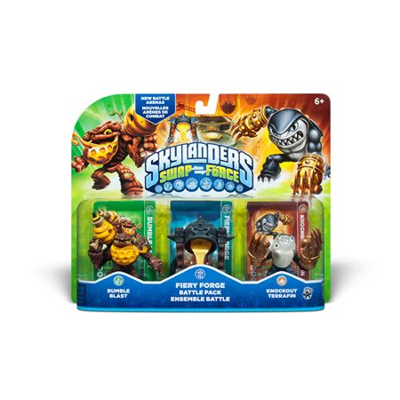 441-511 - Skylanders Swap Force Battle Pack-Fiery Forge