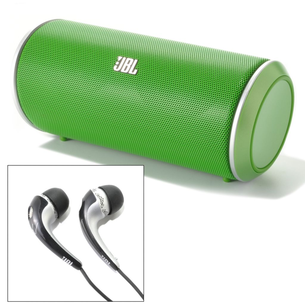 441-523 - JBL by Harman Flip Portable Bluetooth® Speaker & Tim McGraw In-Ear Headphones