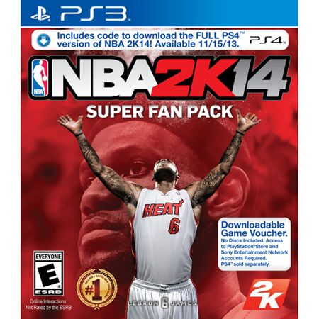 441-529 - NBA 2K14 Video Game Super Fan Pack