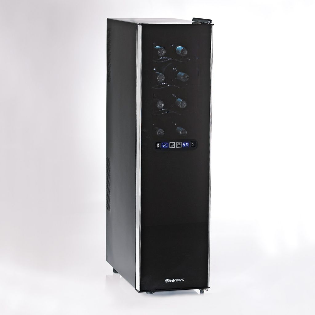 441-565 - Wine Enthusiast Touchscreen Dual Zone Slimline Silent 18 Bottle Wine Refrigerator