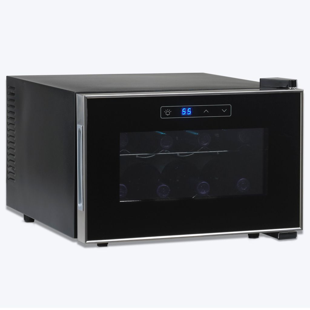 441-566 - Wine Enthusiast Touchscreen 8 Bottle Wine Refrigerator