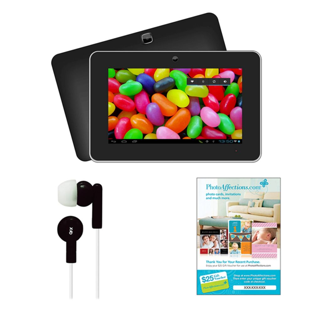 "441-581 - Supersonic 9"" Android 4.2 Touch Screen Tablet w/ Earbuds & $25 Voucher"