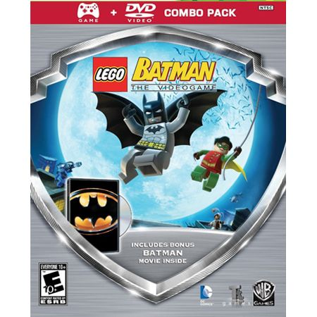 441-624 - LEGO Batman Silver Shield Video Game Combo Pack