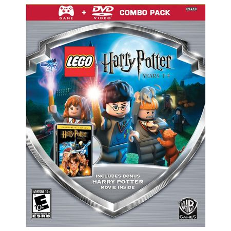 441-625 - LEGO Harry Potter: Years 1-4 Silver Shield Video Game Combo Pack