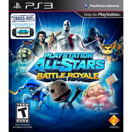 441-633 - PlayStation All-Stars Battle Royale PS3 Game