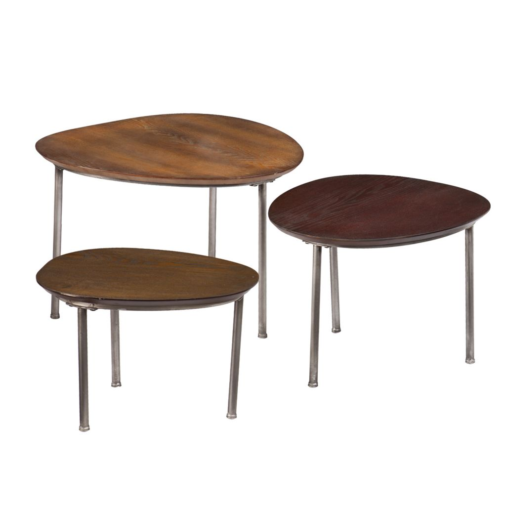 441-656 - Nesting Accent Table Three-Piece Set