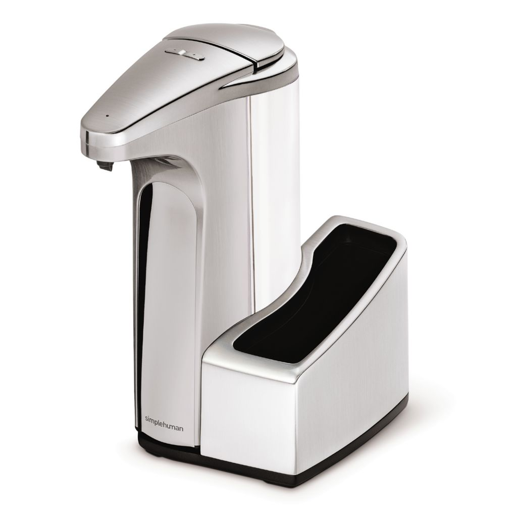 441-677 - simplehuman® 13 oz Sensor Pump & Detachable Caddy w/ Bonus Dish Soap