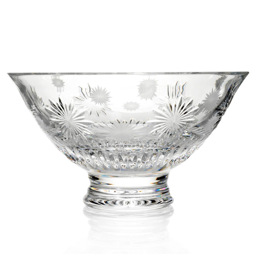 "441-701 - Waterford® Crystal Snowflake Wishes ""Courage"" Carina 10"" Bowl"