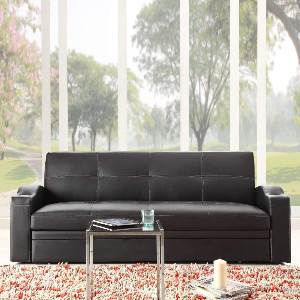 441-721 - Homebasica Sofa w/ Pullout Trundle