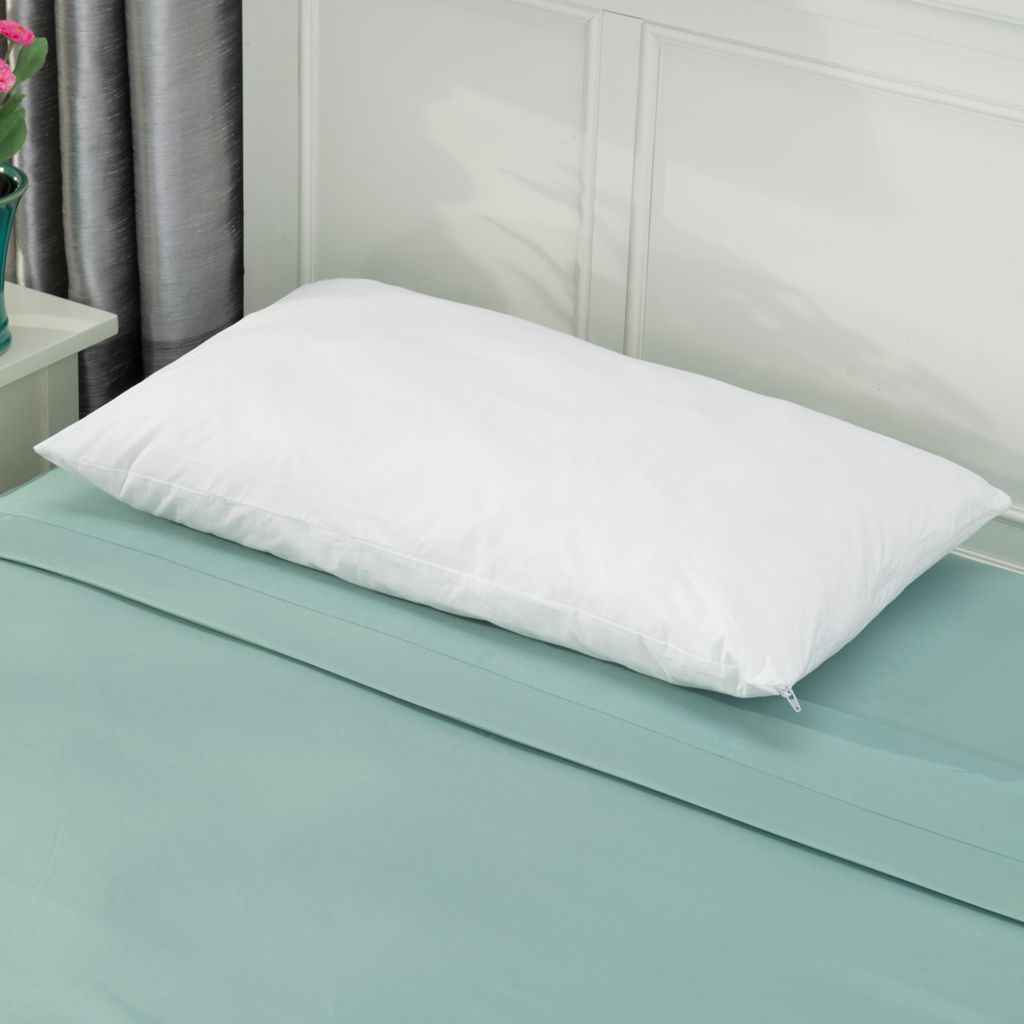 "441-732 - Cozelle® 100% Cotton 27"" x 15"" Air Memory Foam Pillow"