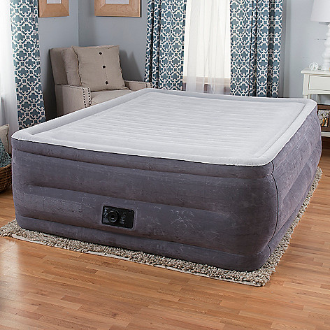 441 760 Intex Comfort Plush High Rise Profile Air Mattress W Built
