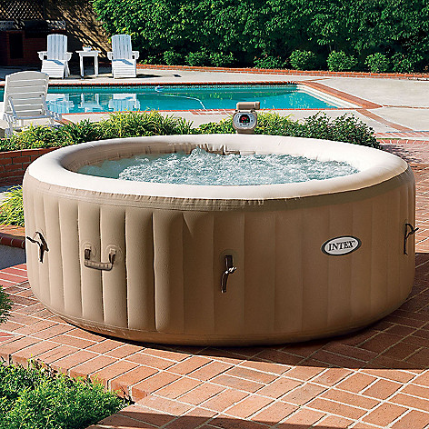 441-808 - North Shore Living™ Intex Pure Spa 1300W Fiber-Tech Construction Inflatable Spa
