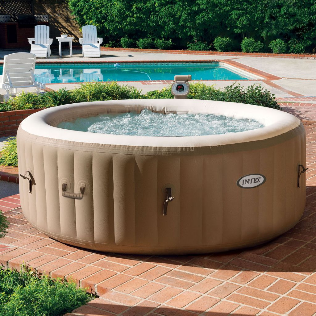 441-808 - Intex® Pure Spa™ 1300W Fiber-Tech Construction Inflatable Portable Spa