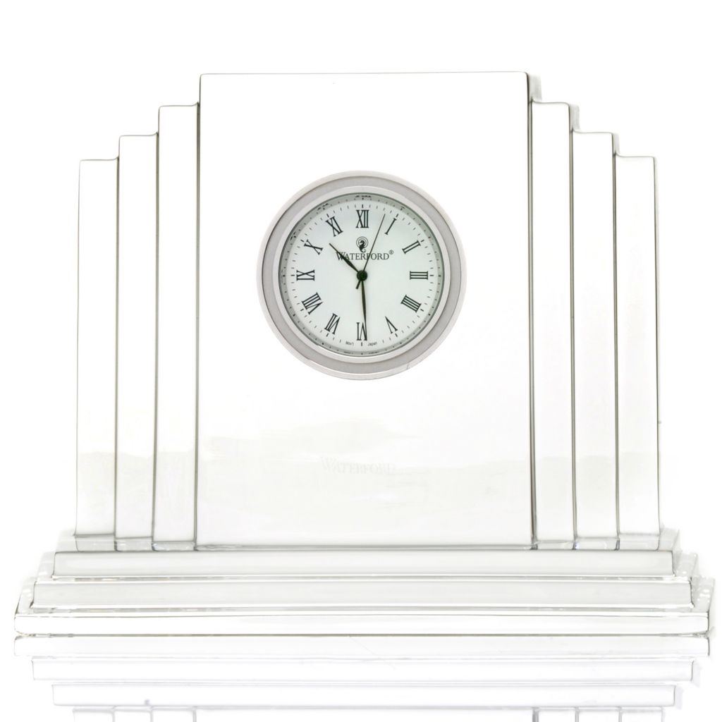 "441-822 - Waterford® Crystal 4.75"" Metropolitan Clock"