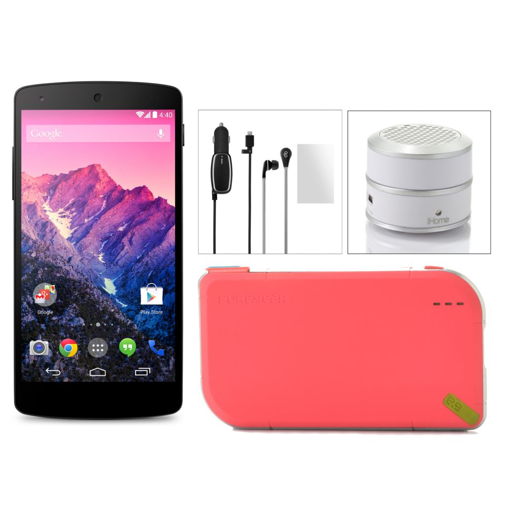 441-860 - Google Nexus 5 4G LTE 16GB Phone w/ Accessories & T-Mobile No Annual Service Contract