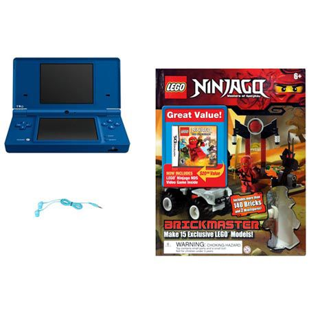 441-891 - Nintendo DSi Portable Gaming System w/ LEGO Game, Brick & Book Bundle