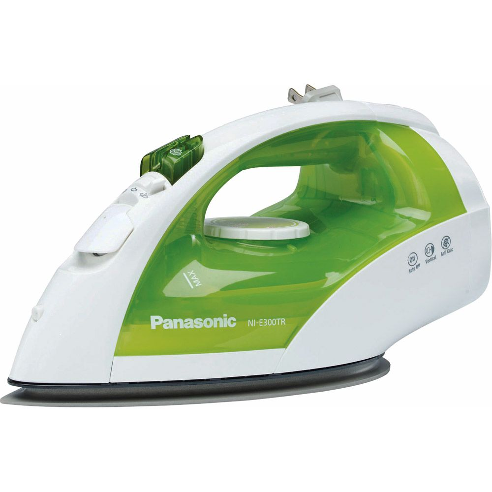 441-960 - Panasonic 1200-Watt Retractable Cord Steam/Dry Iron with Curved Soleplate