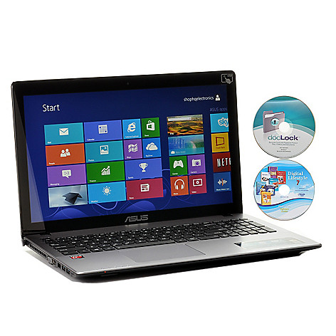 442-030 - ASUS 15.6'' LED HD Touchscreen Quad-Core 6GB RAM 750GB Notebook w/ Software