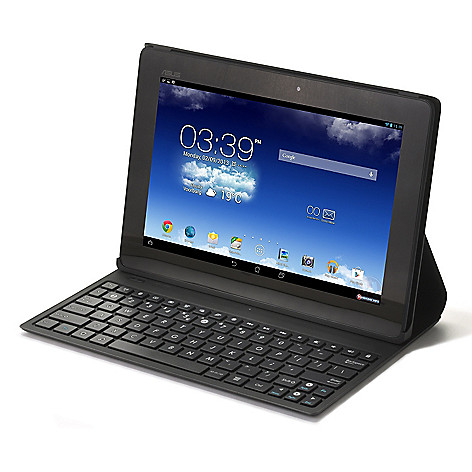 442-038 - ASUS 10'' LED Android™ 4.2 16GB Dual-Core Wi-Fi Tablet w/ Folio Cover & Keyboard