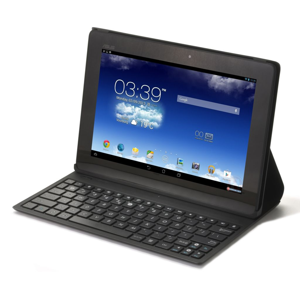 "442-038 - ASUS 10"" LED Android™ 4.2 16GB Dual-Core Wi-Fi Tablet w/ Folio Cover & Keyboard"