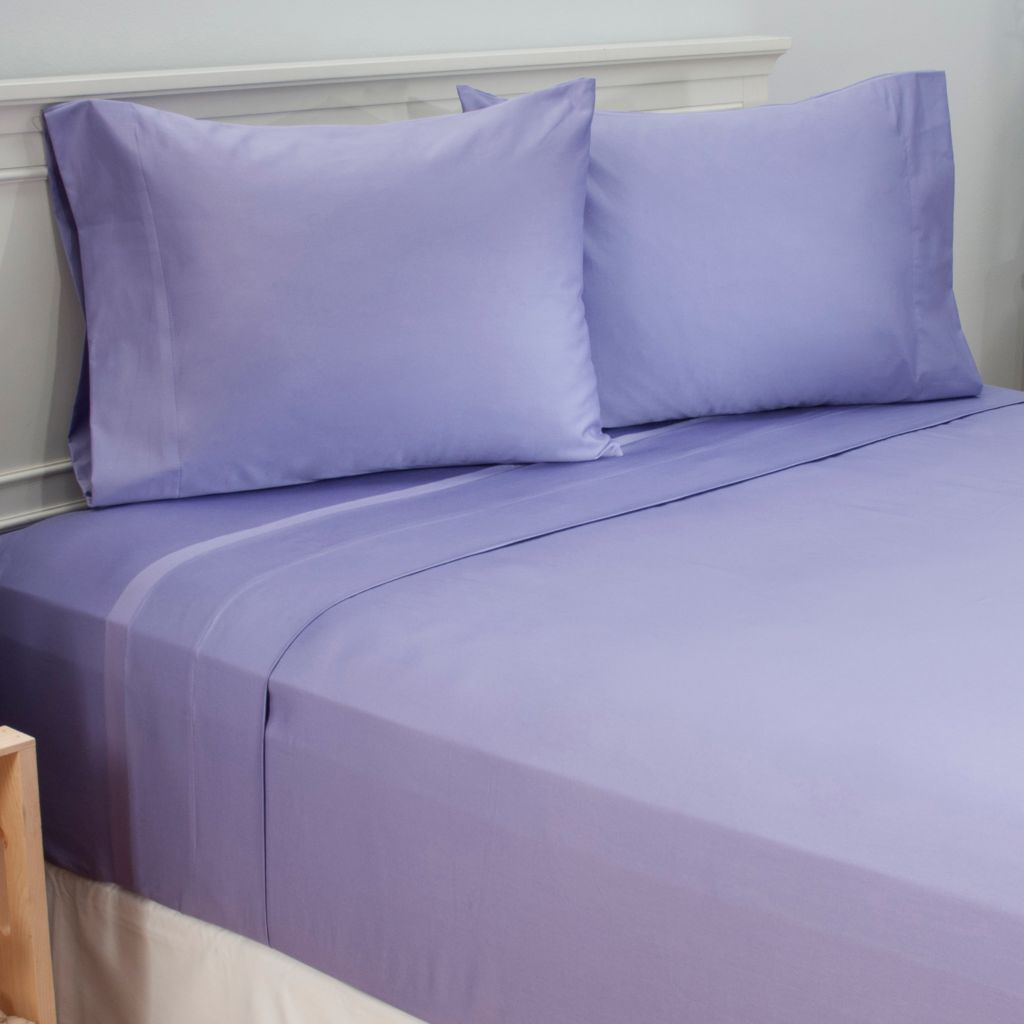 442-041 - North Shore Linens™ 600TC 100% Egyptian Cotton Easy Care Four-Piece Sheet Set
