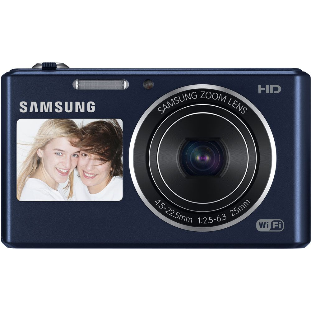 442-060 - Samsung 16.2MP Dual-View Smart Camera w/ Built-in Wi-Fi