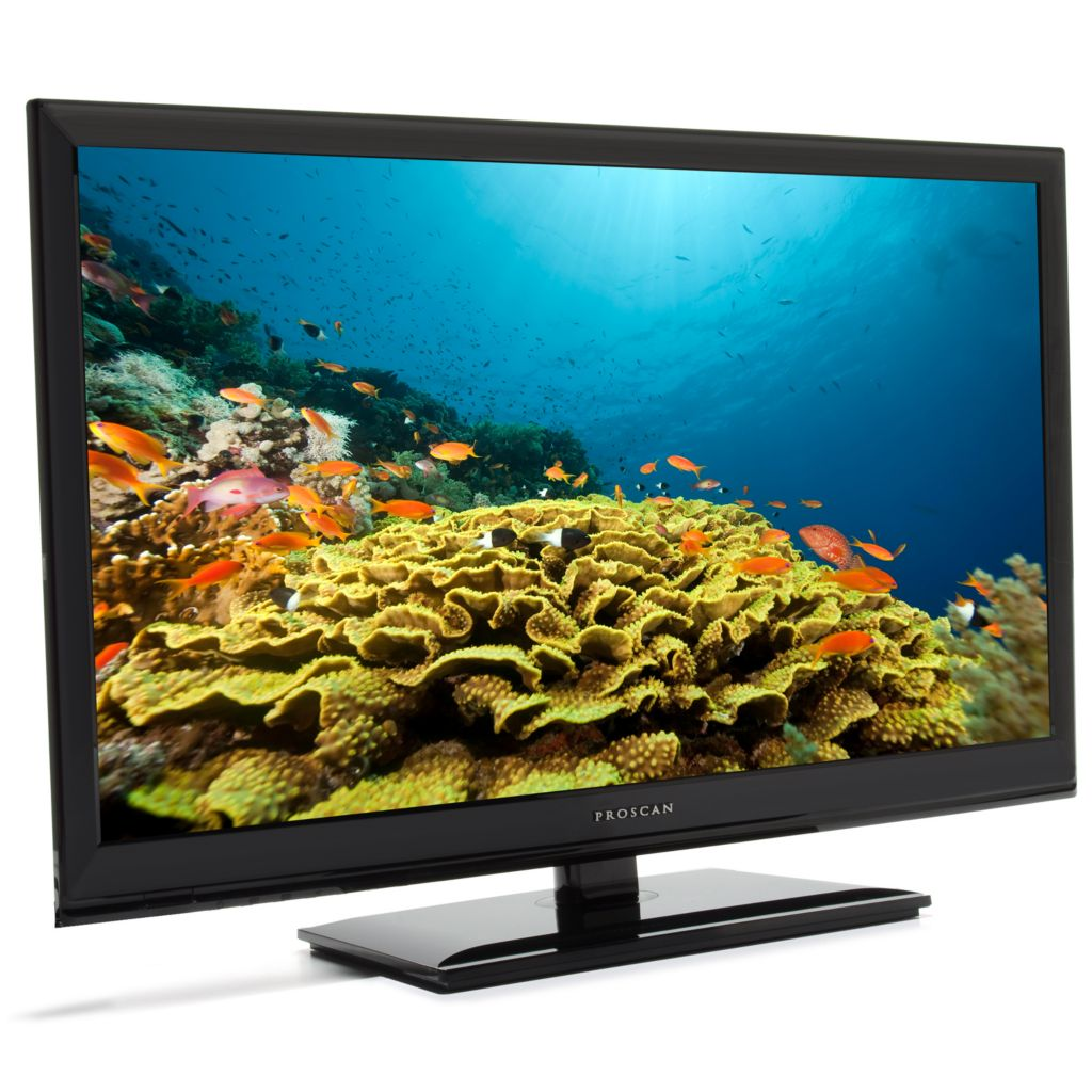 "442-081 - Proscan 22"" 720p LED HDTV w/ Built-in DVD Player & HDMI Connection"