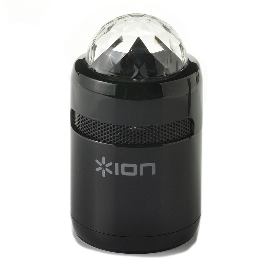 442-091 - Ion Audio Party Starter Bluetooth® Compact Speaker w/ Built-in Lights