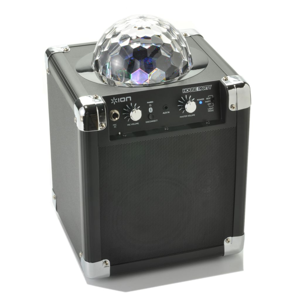 442-092 - Ion Audio House Party Bluetooth® Speaker System w/ Built-in Light Show