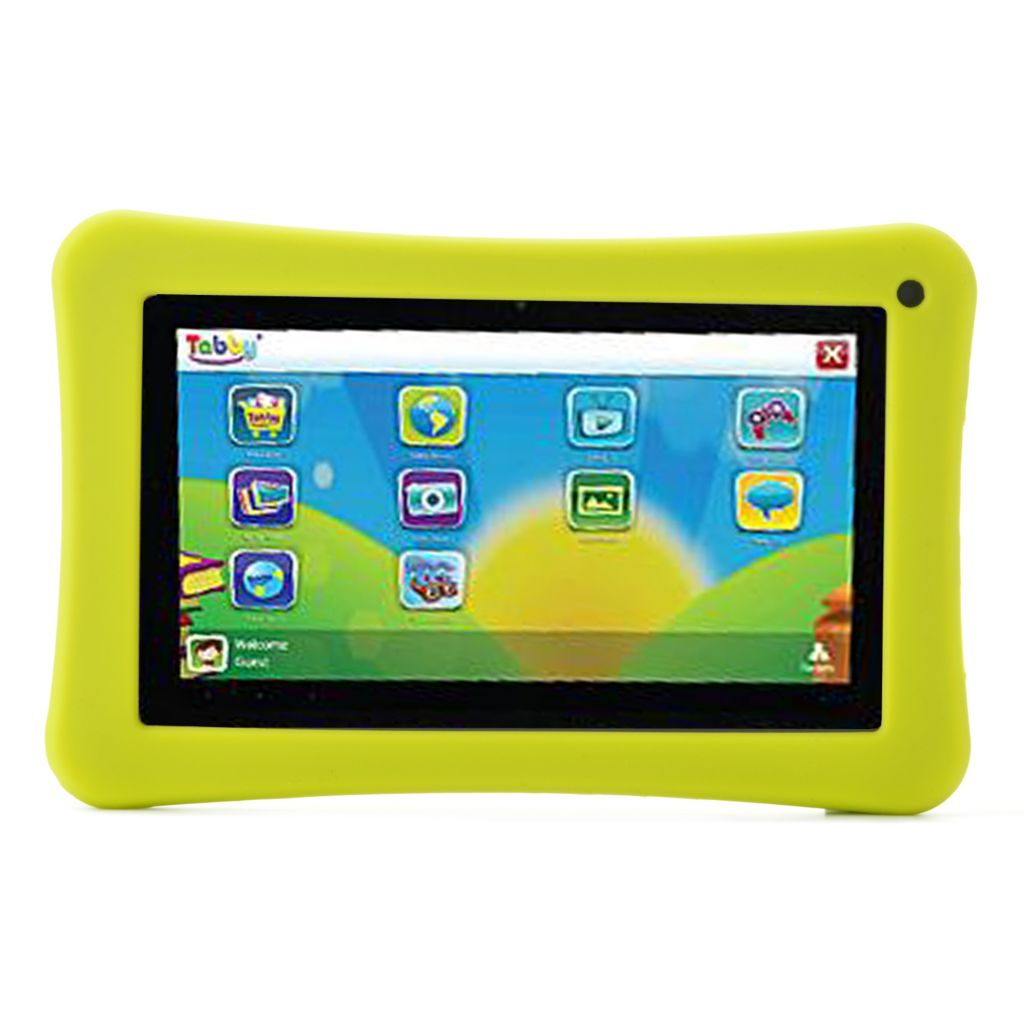 "442-093 - Tabby 7"" LCD 4GB Android™ 4.1 Dual-Core Wi-Fi Tablet w/ Silicone Protective Case"