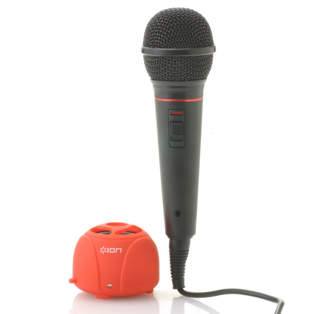 442-101 - Ion Audio Karaoke 2 Go w/ Compact Speaker & Microphone
