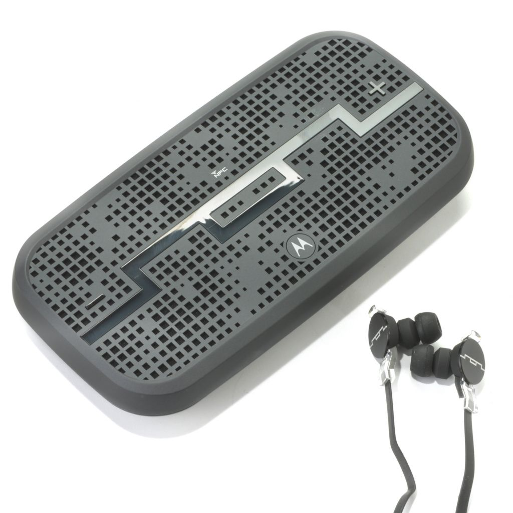 442-155 - SOL REPUBLIC® Deck Wireless Speaker & Amps HD In-Ear Headphones