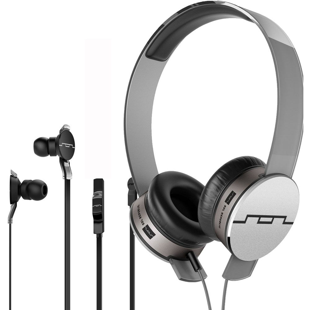 442-156 - SOL REPUBLIC® Tracks HD V10 Headphones & Amps HD In-Ear Headphones