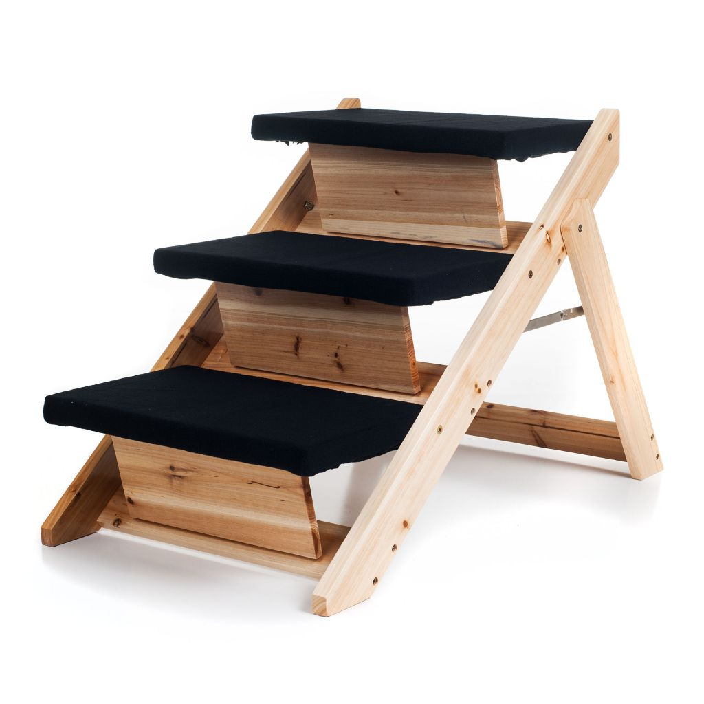 442-158 - PAW™ Folding 2-in-1 Pet Ramp & Stairs for Dogs and Cats