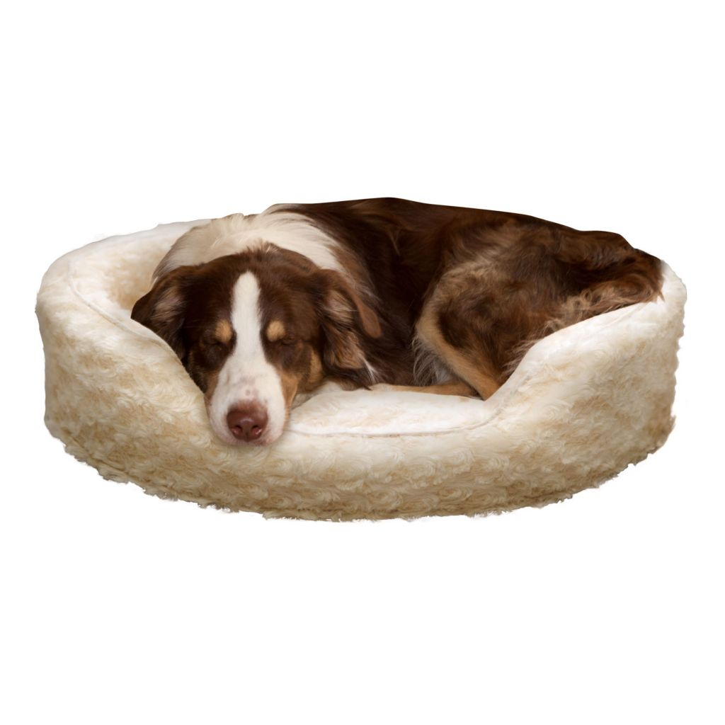 442-161 - PAW™ Snuggle Round Comfy Fur Pet Bed