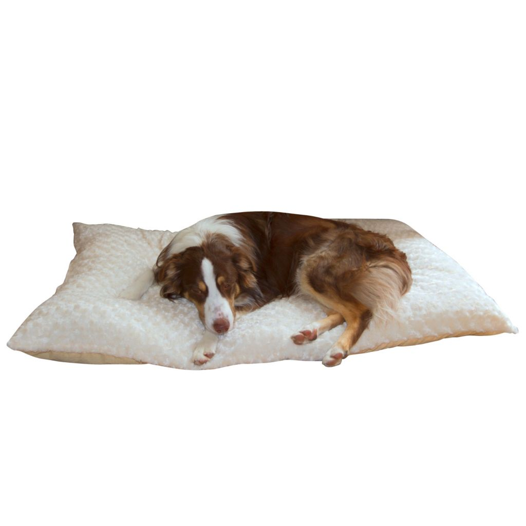 442-166 - PAW™ Lavish Cushion Pillow Furry Pet Bed