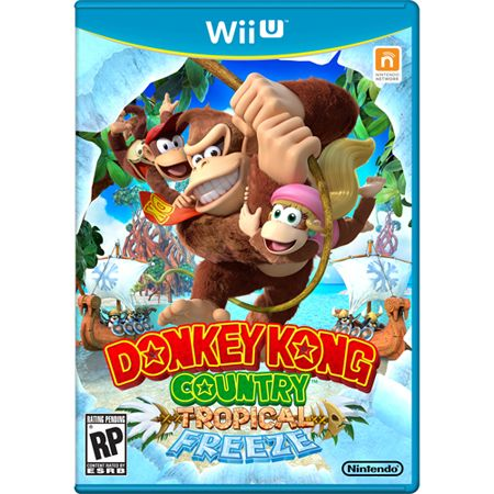 442-168 - Donkey Kong Country: Tropical Freeze Wii-U Video Game