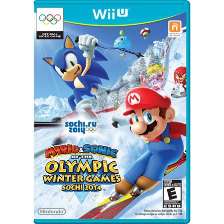 442-172 - Mario & Sonic: Olympic Games-Sochi 2014 Wii-U Video Game