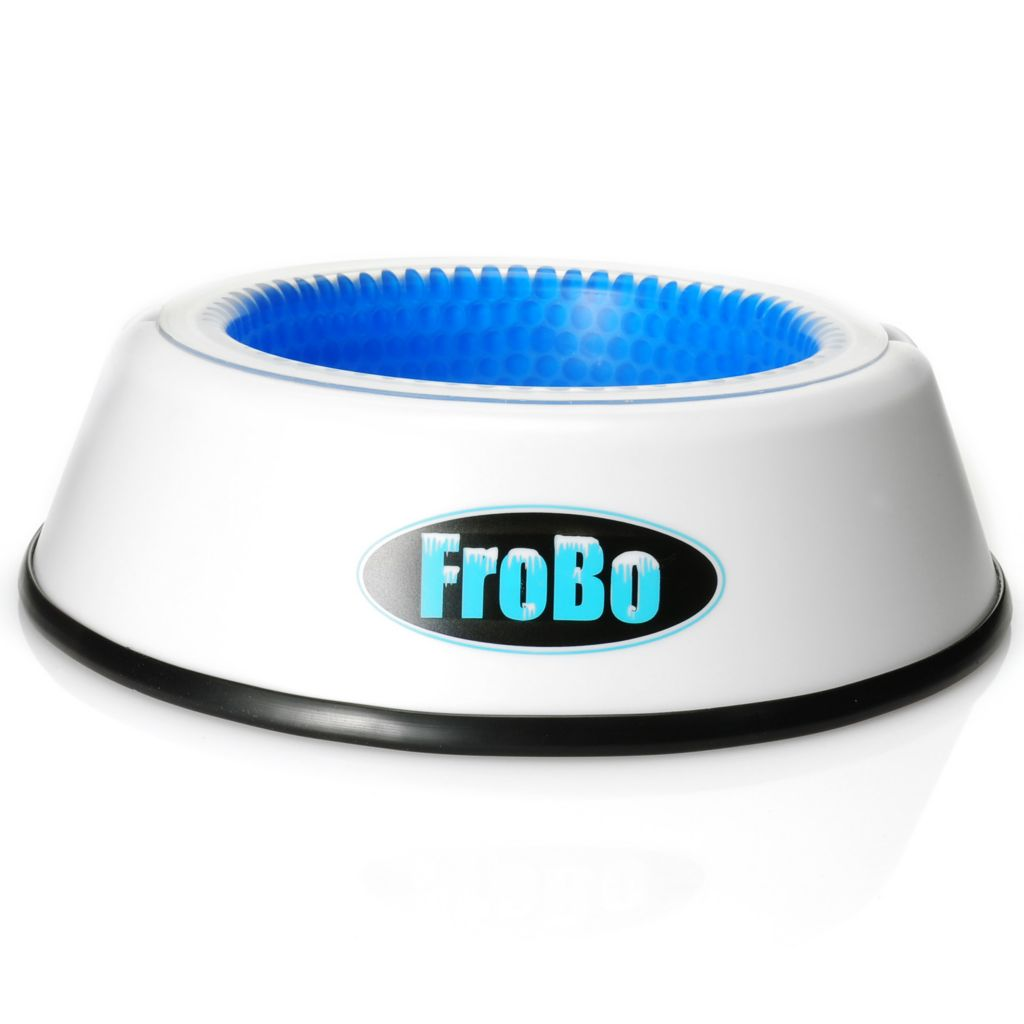 442-182 - FroBo 24 oz Pet Cooling Water Bowl & Freezer Core