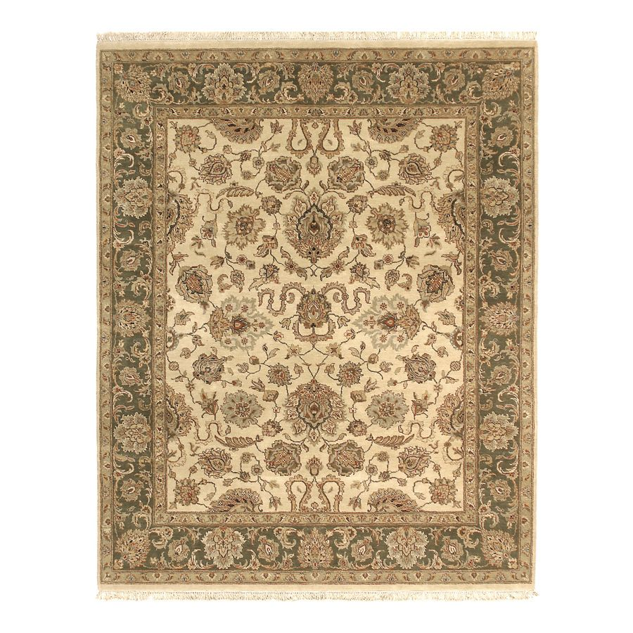 442-191 - Woven Heirlooms Agra Cream Hand-Made Rug