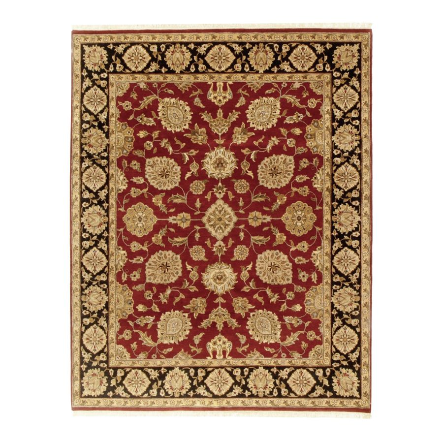 442-192 - Woven Heirlooms Kashan Red Hand-Made Rug